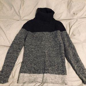Banana Republic Wool Knit Turtleneck Sweater